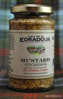 Mustard with Edradour Whisky, Körniger Senf mit Edradour