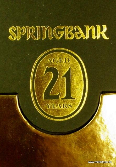 Springbank 21 Jahre