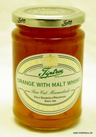 Tiptree Orangen Marmelade Fine Cut mit Malt Whisky von Wilkin & Sons Ltd