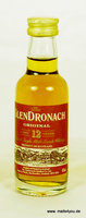 Glendronach 12 Jahre Miniatur