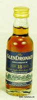 Glendronach 18 Jahre Allardice Miniatur