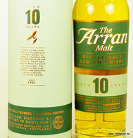 Isle of Arran 10 Jahre Non-Chillfiltered