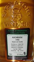 Auchroisk 1990/2017 Signatory Cask Strength