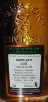 Mortlach 2008/2017 Signatory Cask Strength
